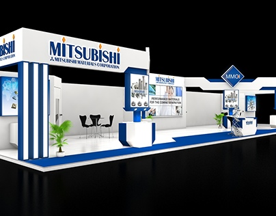 Mitsubishi Material 126 Sqmtr. 3 side open stall design