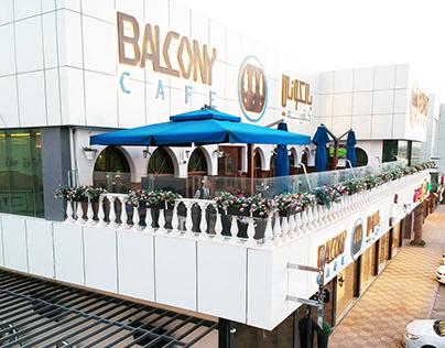 Balcony Cafe Branding