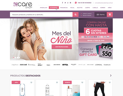 Ecare - Restyling