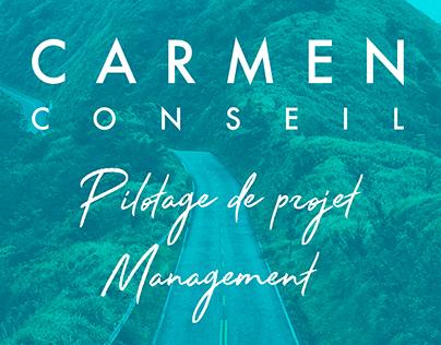 Carmen Conseil - Identité visuelle
