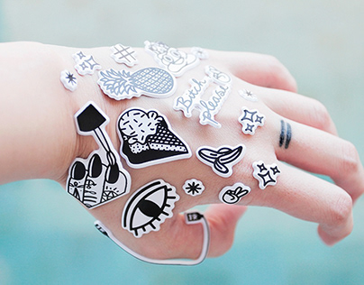 Puffy Sticker Set