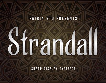 Strandall Display Typeface