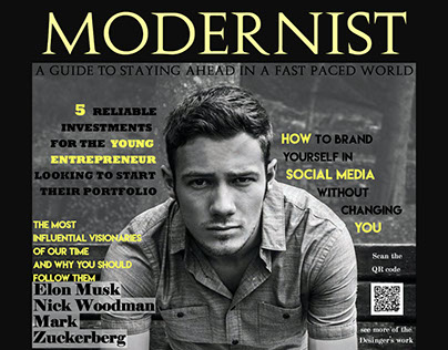 Modernist Magazine Cover