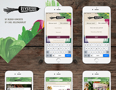 Riverford App Concepts