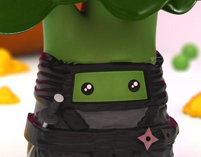 El Ninja del Clan en C4D