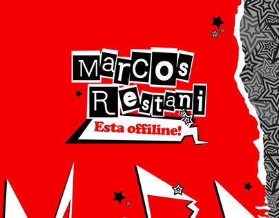 Identidade Visual | Twitch Overlay - Marcos Restani