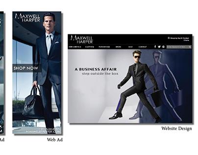 Brand Marketing: Maxwell Harper