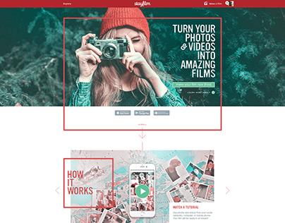 Stayfilm Website