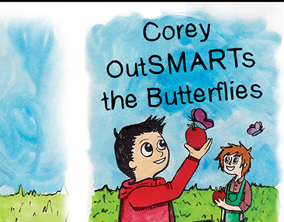 Corey OutSMARTS the Buterflies