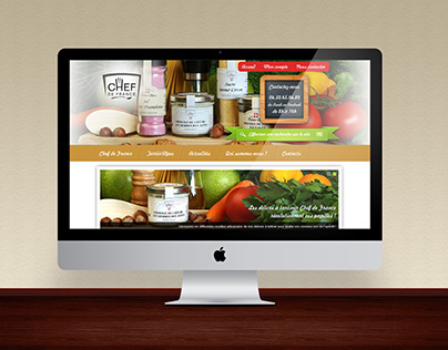 Chef de France | Website
