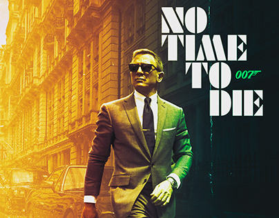 No time to die poster design