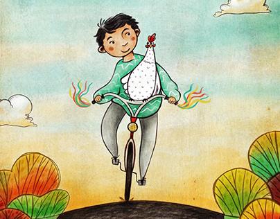Gwen the Rescue Hen - A Children's Book
