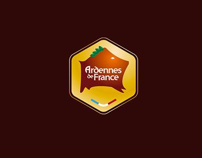 Ardennes de France / Identity visual / branding / Label