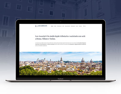 Leo Associati - Website Restyling