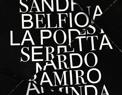 Opera Poster — La Finta Giardiniera
