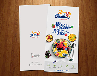 Raw Crush - Brochure