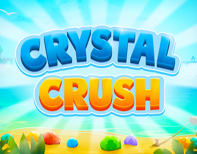 Crystal Crush Game Logo