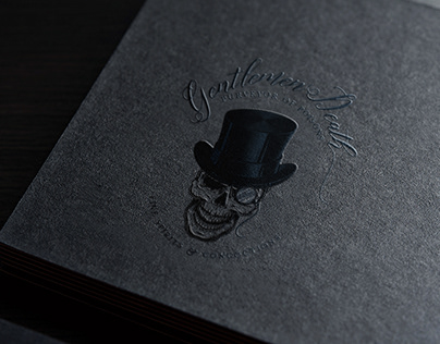 Gentlemen Death Logo Design