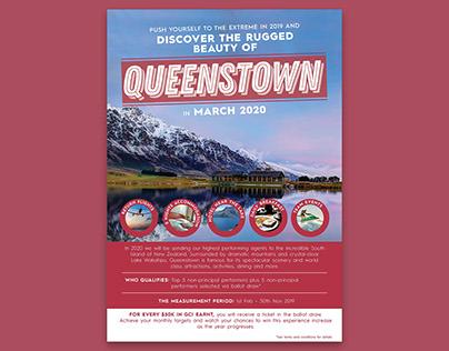 Queenstown Poster