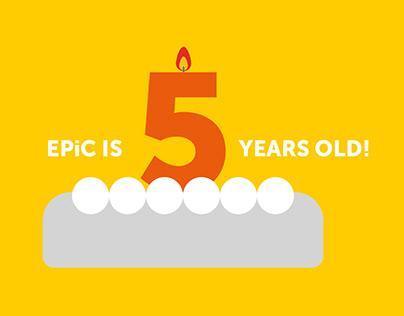 EPiC countdown animation