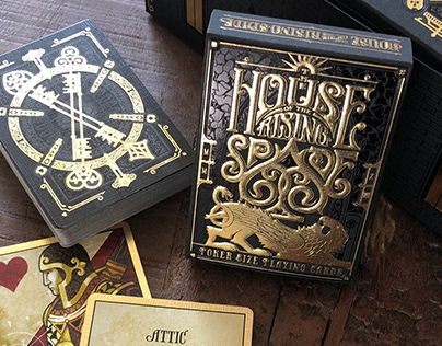 The House of the Rising Spade Playing Cards