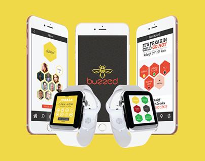 Buzzed App UX/UI