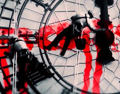 Multimedia for Banksy exhibition