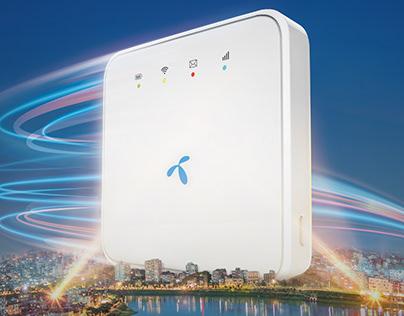 Grameenphone 4G Pocket Router