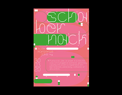 Schabernack Poster Font