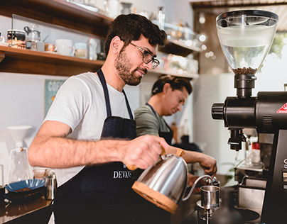 Devans Coffee - Photo and Video Campaign