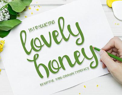 Lovely Honey - Cute Font