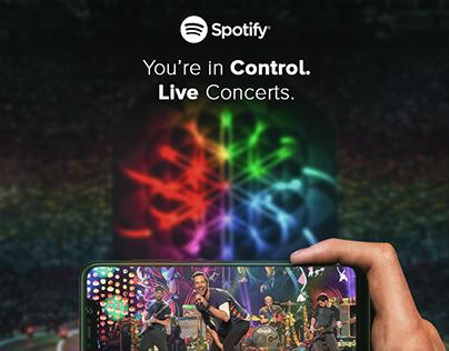 Spotify Live concert
