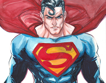 Superman - in honor of the 80th birthday