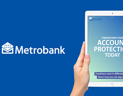 Metrobank Projects Photos Videos Logos Illustrations And Branding On Behance