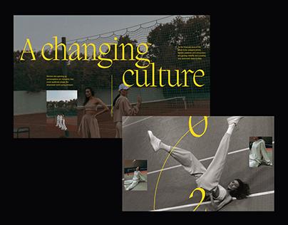 Women Street Culture Editorial