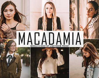 Free Macadamia Mobile & Desktop Lightroom Preset