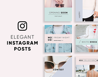 Elegant Instagram Posts