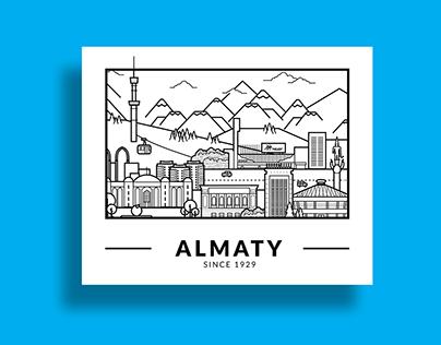 Almaty City. My hometown