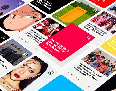 Turning K-Pop fandom into data K-Pop Radar Website