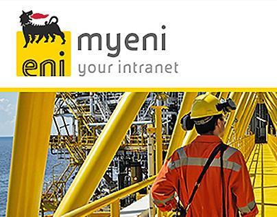 Eni - Intranet MyEni - Restyling proposal