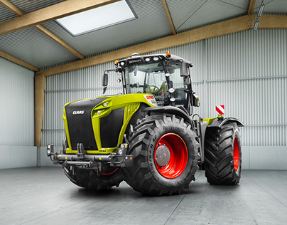 CLAAS Tractors 2017 by Stephan Bayer