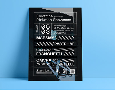Electrica presents Pinkman Showcase - Graphic Design