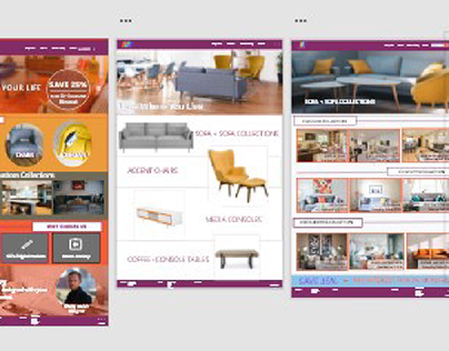 Website Design -Adobe xd