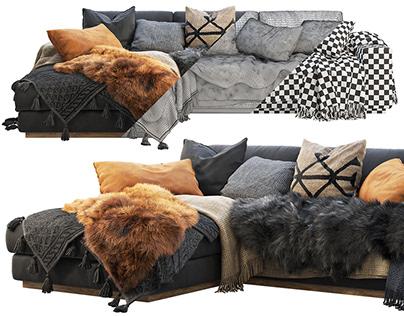 """3d model """"Roveconcept Noah Sectional Sofa"""""""
