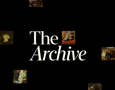 The Archive – Mobile Application Concept