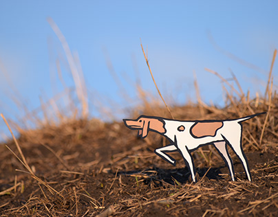 Paper cut out illustrations