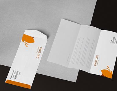 Premium Envelope Design Mockup