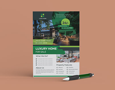Real Estate Flyer Design (FREE)