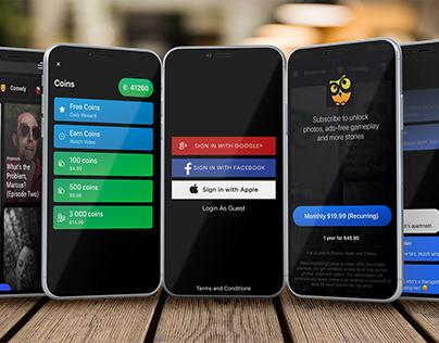 iOS Mobile UI/UX