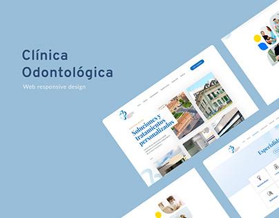 Web responsive para Clínica odontológica